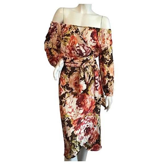 Escada Silk Floral Dress